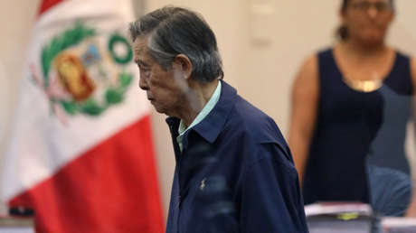 Alberto Fujimori, expresidente de Perú.