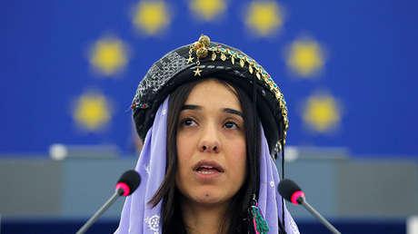 La premio Nobel de la Paz, Nadia Murad