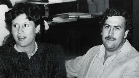 Pablo Escobar y su esposa Victoria Henao, Colombia, 1983.