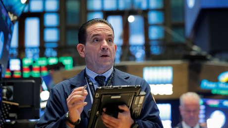Un corredor de bolsa en la Bolsa de Valores de Nueva York (NYSE), el 3 de octubre de 2018.