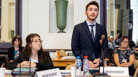 Los estudiantes argentinos campeones mundiales en derechos humanos