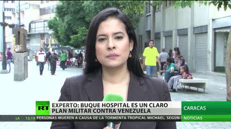 """""""El buque hospital estadounidense es un claro plan militar contra Venezuela"""""""