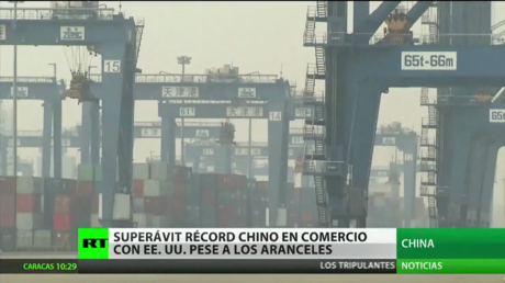 China bate su récord de superávit comercial con Estados Unidos pese a los aranceles