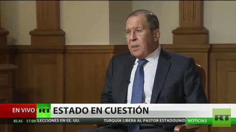 """Lavrov: """"EE.UU. intenta crear un cuasi-Estado en el territorio sirio"""""""