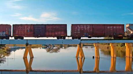 Imagen del video promocional del Tren Maya, difundido por Andrés Manuel López Obrador.