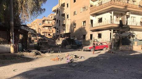 Agencia estatal siria: Más de 60 civiles sirios muertos por ataques aéreos de la coalición de EE.UU.