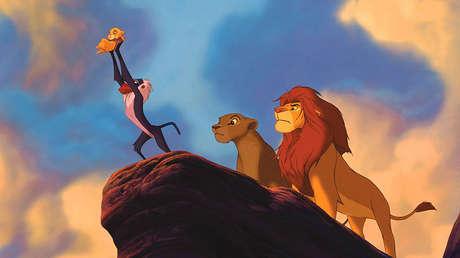 Como Rafiki y Simba: Un mono recrea a la perfección la icónica escena de 'El Rey León' (FOTO)