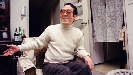 Issei Sagawa, asesino de la estudiante Renée Hartevelt, en el 5 de febrero de 1992 en su apartamento de Yokohama, Japón.