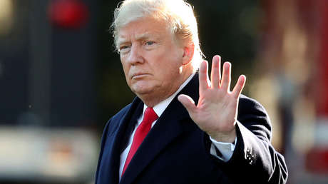 El presidente de Estados Unidos, Donald Trump, en Washington, 24 de octubre de 2018.