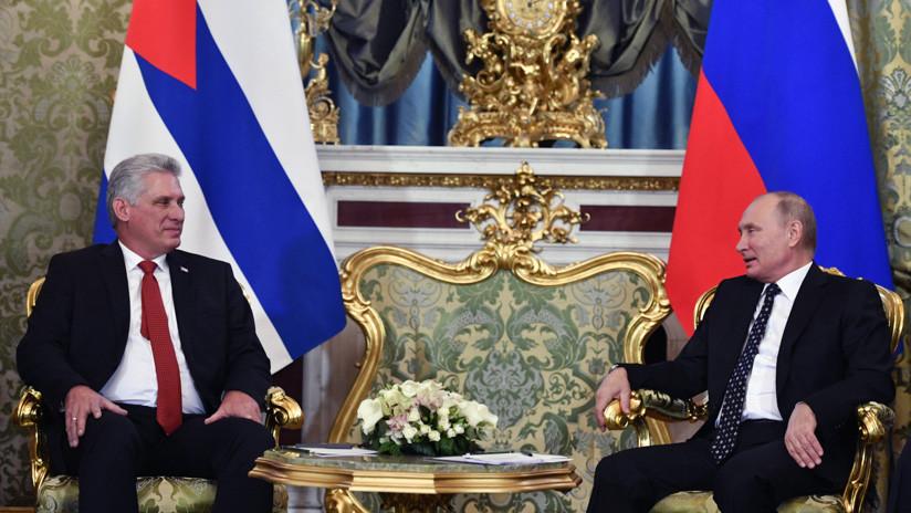 Rusia y Cuba condenan política de sanciones de EE.UU — Díaz-Canel