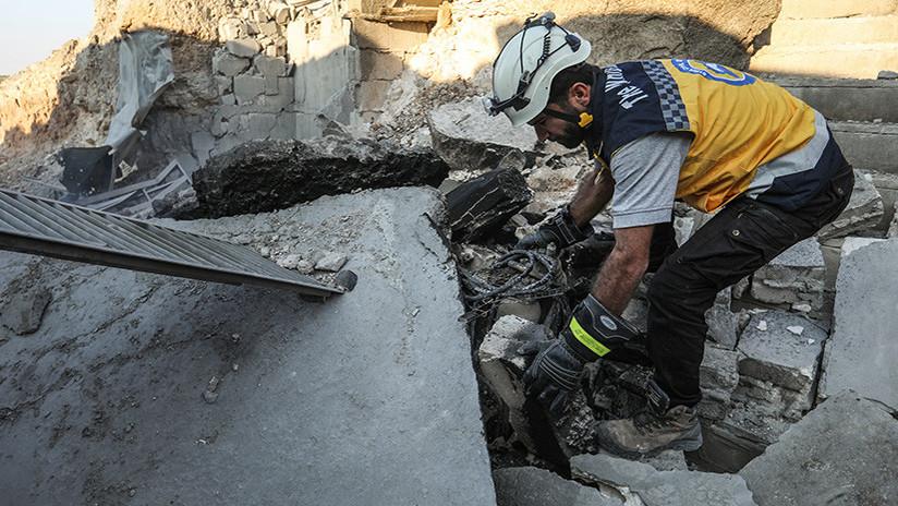 """Rusia: """"Los Cascos Blancos son una rama del Frente Al Nusra"""""""