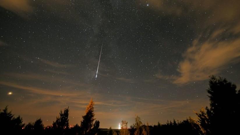 VIDEOS: Una lluvia de meteoros ilumina el cielo de EE.UU.