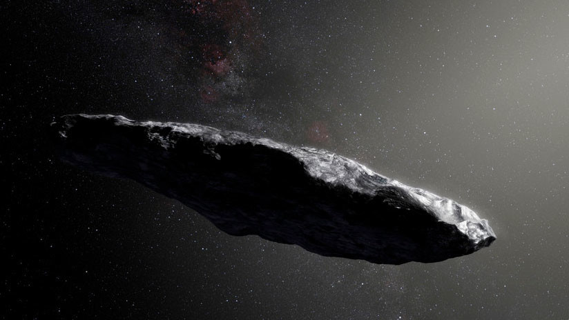 Creen que el misterioso objeto interestelar Oumuamua es una nave extraterrestre