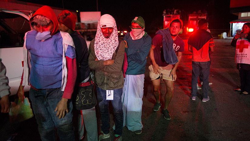 Más de 3.000 de migrantes centroamericanos han pedido refugio a las autoridades de México