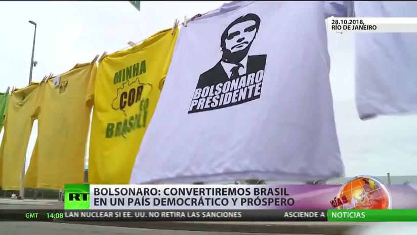 Incertidumbre por el futuro de Brasil tras la victoria de Bolsonaro