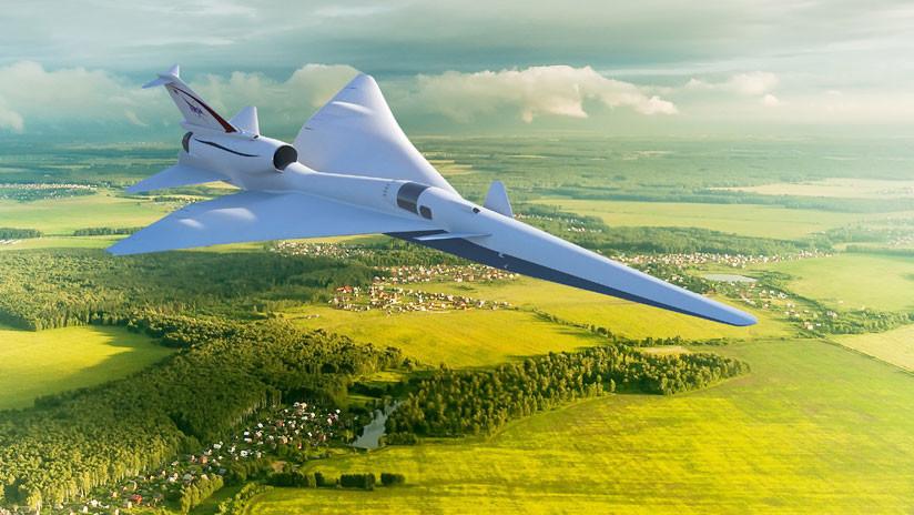 """La NASA prueba un avión con motores supersónicos que produce una explosión sónica """"suave"""""""