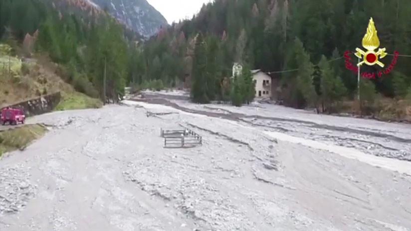 Un panorama desolador: Dramáticas imágenes aéreas tras tormentas al noreste de Italia (VIDEO)