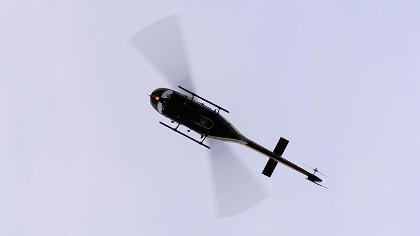 Mueren recién casados al desplomarse su helicóptero, salían de la boda