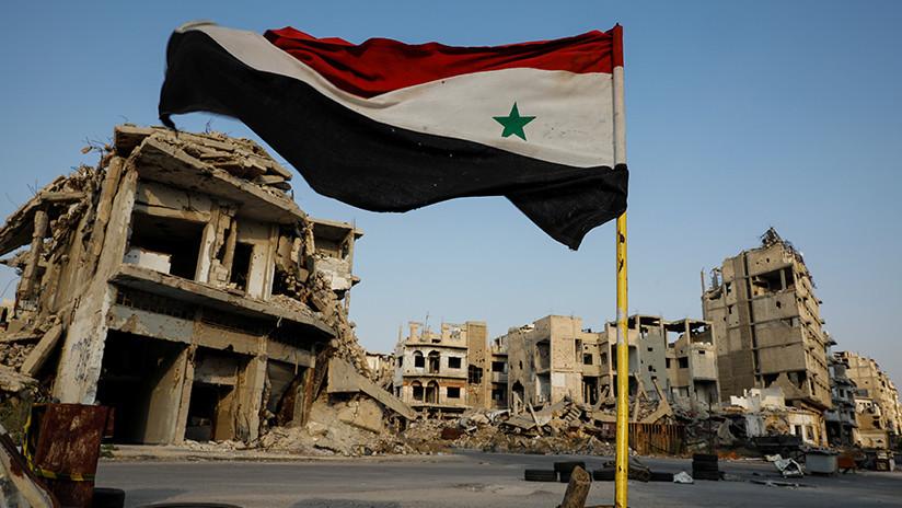 SANA: La coalición liderada por EE.UU. usó fósforo blanco durante su reciente bombardeo en Siria