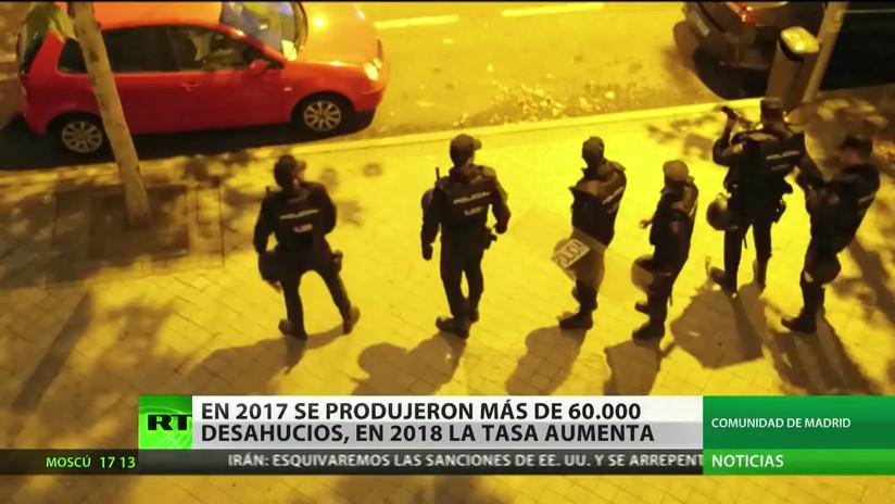 La cifra de desahucios en España no para