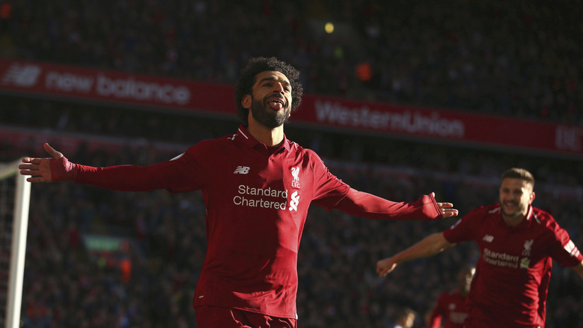 Mohamed Salah ya tiene su estatua al 'estilo' Cristiano Ronaldo