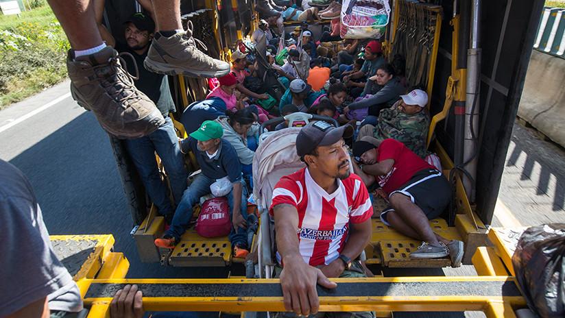 Denuncian la desaparición de al menos 80 migrantes de la caravana en el estado de Veracruz
