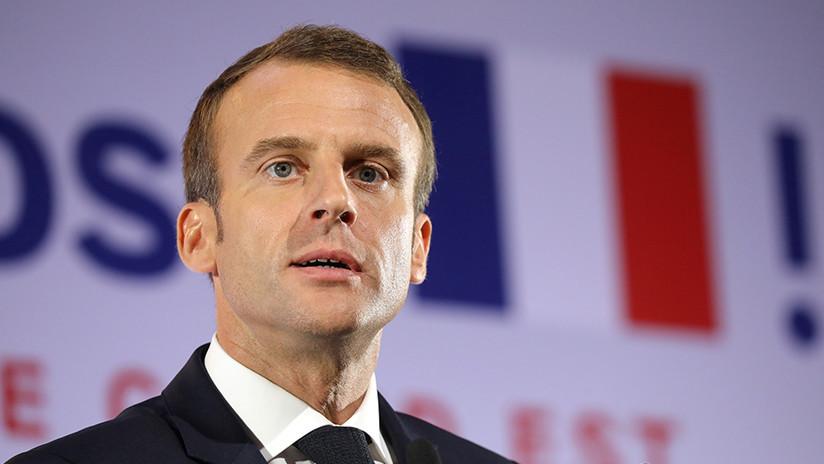 Francia: Detienen a seis personas por un plan para atacar a Macron