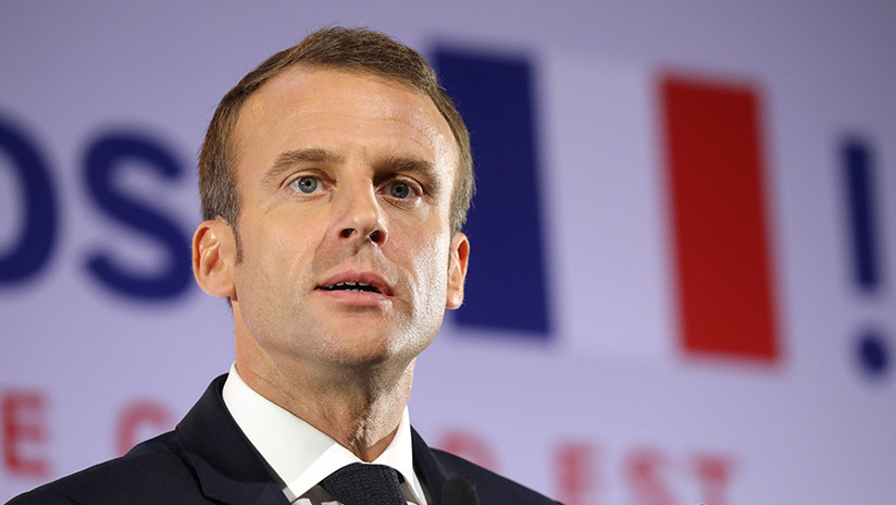 """Emmanuel Macron propone crear un """"ejército paneuropeo"""""""
