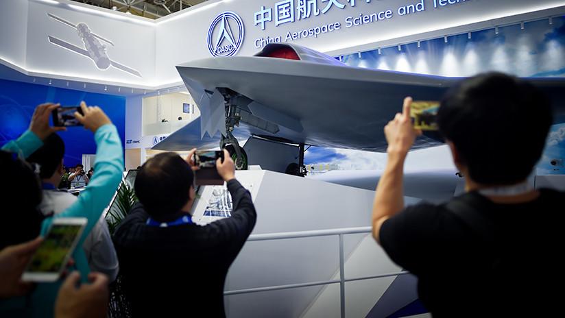 VIDEO: Trascienden imágenes del dron de combate furtivo chino CH-7