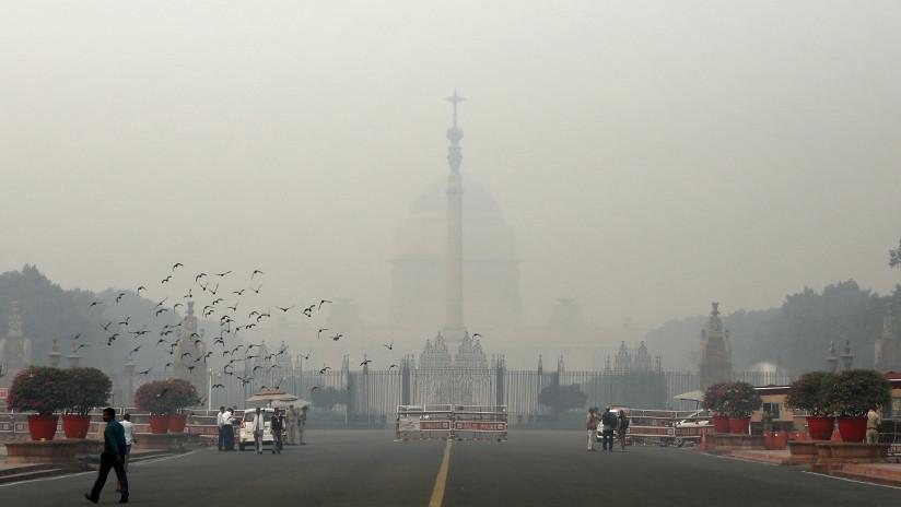 India: Nueva Deli empleará lluvia artificial para combatir la contaminación ambiental