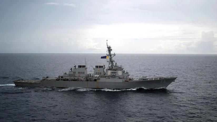 VIDEO: Así fue la cercana colisión entre destructores de China y EE.UU. en mar de China Meridional