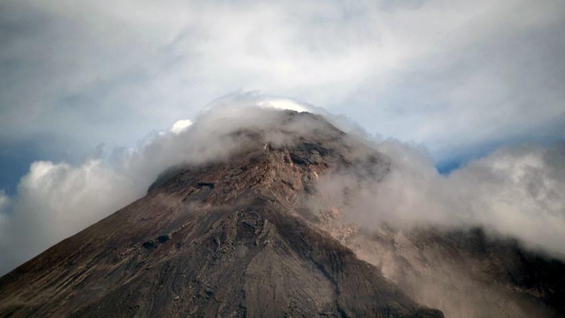 El Volcán de Fuego que se cobró casi 200 vidas vuelve a entrar en erupción en Guatemala