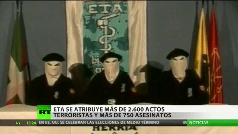ETA se atribuye más de 750 asesinatos y 2.600 actos terroristas