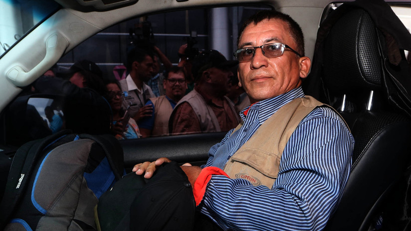 Líder social hondureño niega ser el promotor de la Caravana de Migrantes