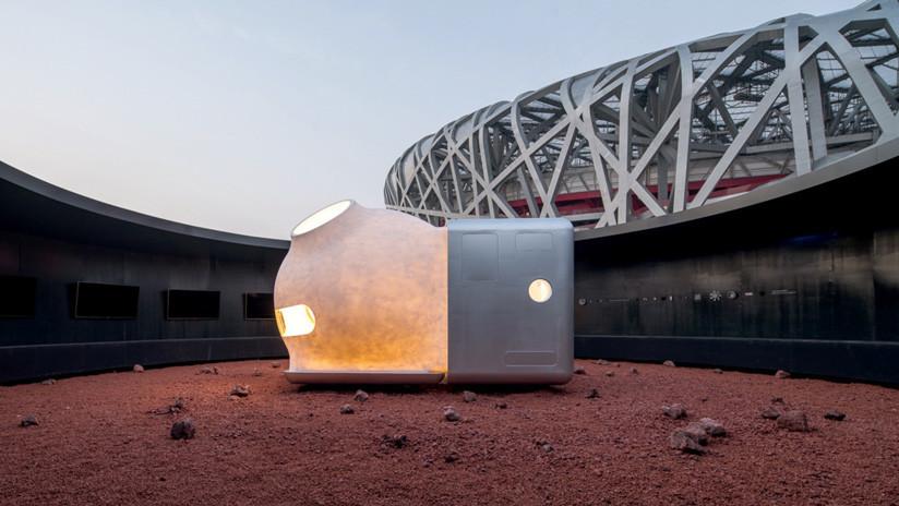 'Forzados a abandonar la Tierra': Presentan una vivienda sostenible para colonizar Marte (FOTOS)
