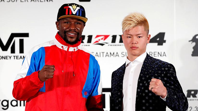 """""""Soy boxeador retirado"""": Mayweather descarta haber acordado lucha contra estrella de la MMA japonesa"""