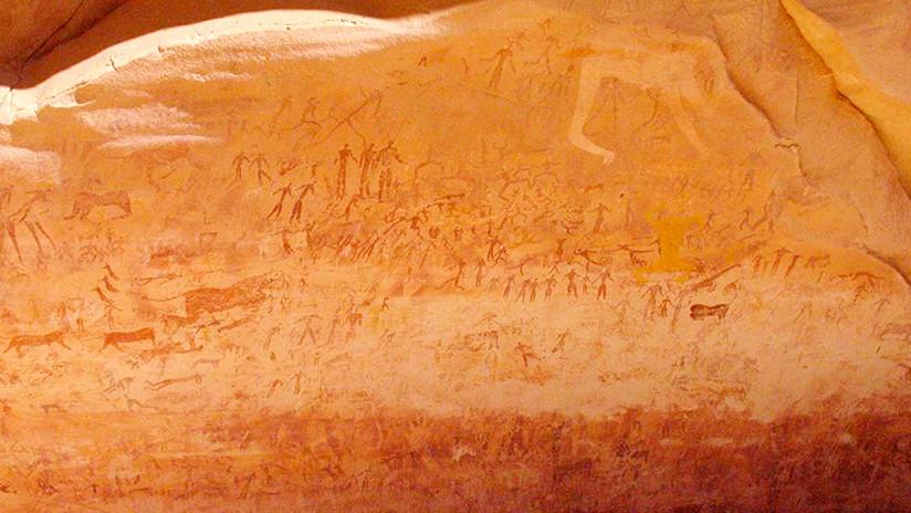 FOTO: Determinan cuál es el dibujo de animal más antiguo del mundo, de 40.000 años de antigüedad