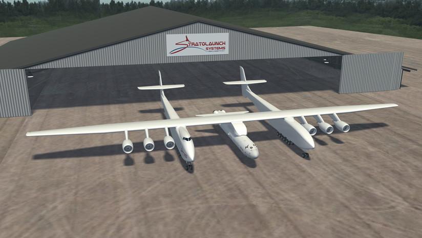 Stratolaunch: El avión más grande del mundo prueba un elemento clave de su motor