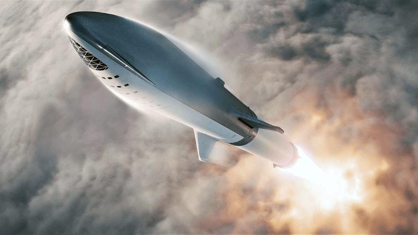 """SpaceX anuncia primeras pruebas en vuelo de una """"versión mini"""" de su cohete destinado a Marte"""