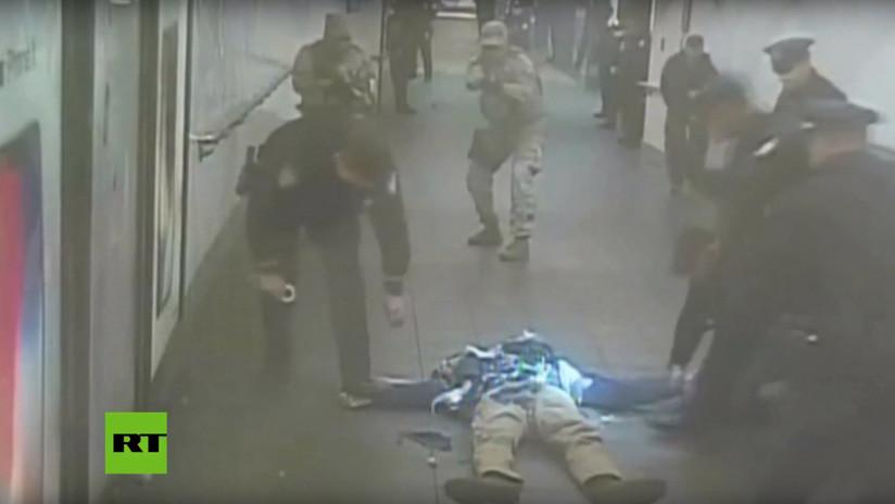 VIDEO: Revelan imágenes del fallido atentado suicida en el metro de Nueva York