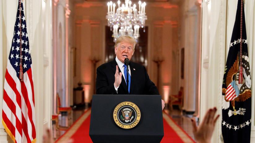 """""""Emergencia nacional"""": Trump extiende por un año sanciones contra Irán decretadas en 1979"""