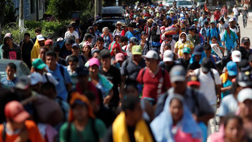 "La ONU ""está imposibilitada para brindar transporte"" a la caravana de migrantes"