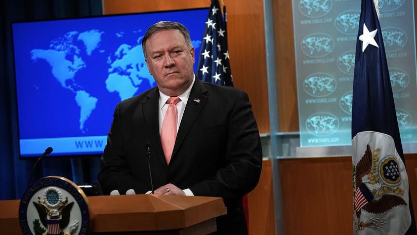 """Pompeo: """"EE.UU. no busca una Guerra Fría con China"""""""