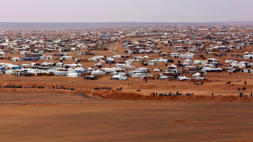 Jordania aboga por desmantelar el campamento de refugiados sirio de Rukban