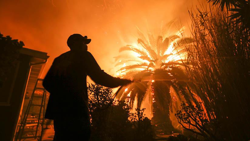 VIDEO, FOTOS: Así se ve desde el espacio el mortífero incendio que arrasa California
