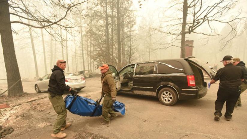 Los incendios son ya los terceros más mortíferos de la historia de California