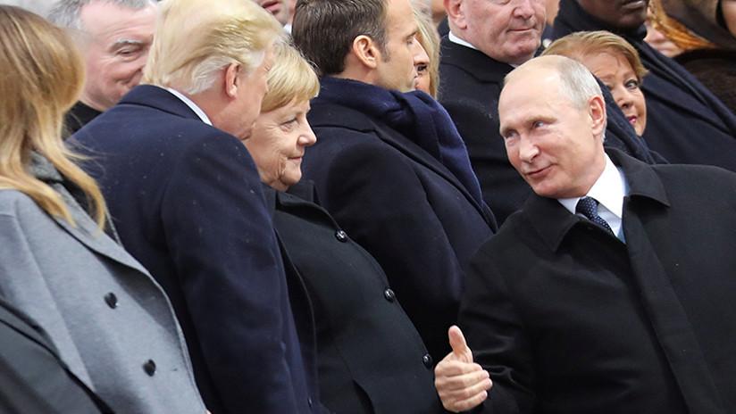 Encuentro en París entre Donald Trump y Vladimir Putin
