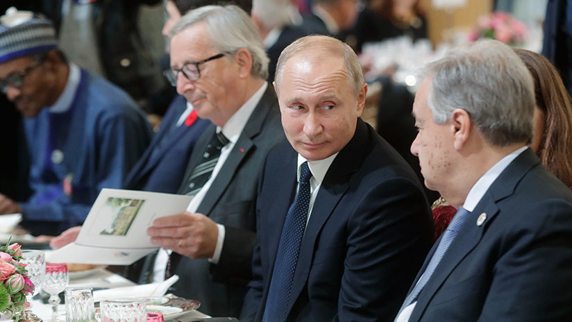 Putin afirma que tuvo una buena conversación con Trump en París