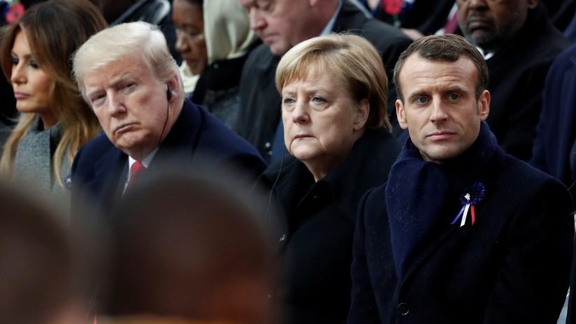 Angela Merkel entregó su respaldo a la creación de un ejército europeo