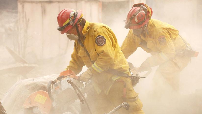 Asciende a 48 la cifra de muertos por incendios forestales en California